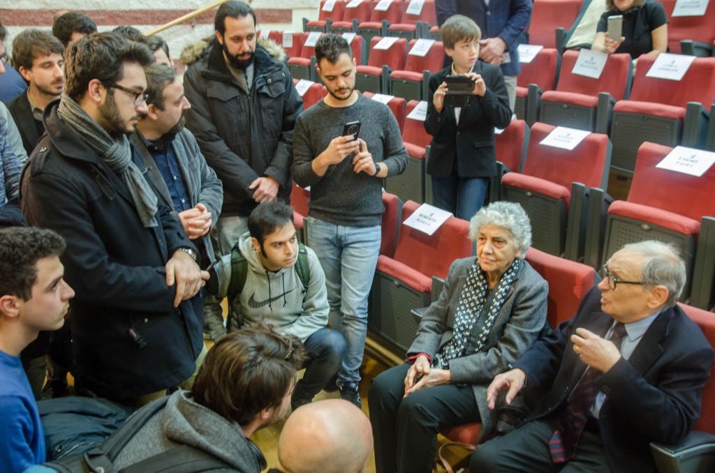 Ennio Morricone incontra gli studenti Sonic Arts
