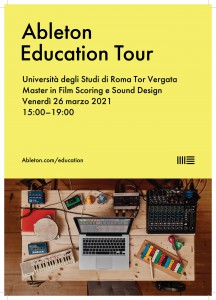 locandina ableton edu tour 2021